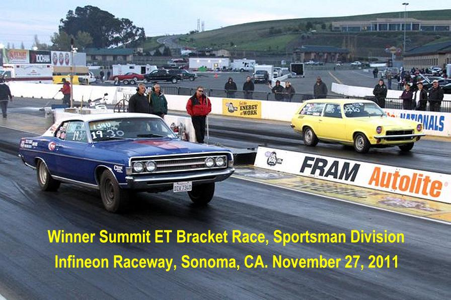 Bad Vega wins Sportsman Division at Infineon, 11-27-2011